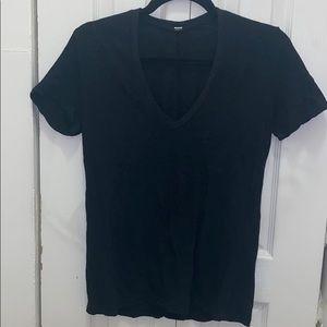 Monrow Size Small Grey Women's T shirt